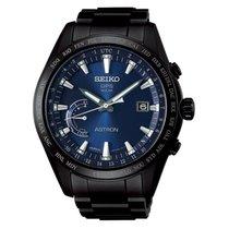 Seiko Astron Solar GPS Black PVD Titanium Men's Watch SSE111