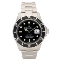 Rolex Submariner Date 16610T, Stainless Steel, Black Dial, 2008
