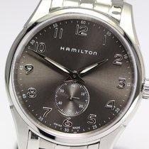 Hamilton JAZZMASTER THINLINE SMALL SECOND QUARZO Black-Steel...