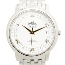 Omega De Ville Stainless Steel Silver Automatic 424.10.37.20.0...