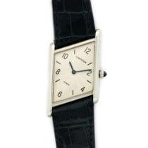 Cartier Platinum Asymmetric Tank Limited Edition Watch