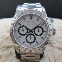 "Rolex DAYTONA 16520 Original White ""Inverted 6"" Dial..."