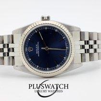 Rolex Oyster Perpetual Blue Dial Midsize 31mm Ser U 1998 2925