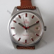 Omega Automatik mit rote Indexe