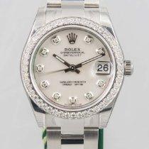 Rolex Datejust Ladies 31mm Midsize Diamond MOP Steel NEW