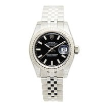 勞力士 (Rolex) Lady Datejust White Gold And Steel Black Automatic...