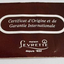 levrette vintage warranty booklet papers blank newoldstock