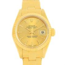 Rolex President Datejust Yellow Gold Oyster Bracelet Ladies...