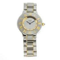 Cartier Must de Cartier 21 Steel Gold Quartz Watch 1330...