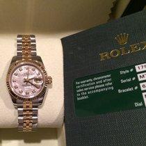 ロレックス (Rolex) Ladies 18k/ss Datejust 179173 Meteorite Diamond...