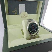 ロレックス (Rolex) Milgauss 116400GVZ Blue Dial Green Crystal
