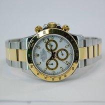 Rolex Daytona Two Tone 18kt Yellow Gold/SS White Dial - 116523