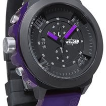 Welder by U-Boat K33 Chronograph Black Ion-plated Mens Sport...