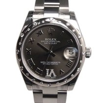 勞力士 (Rolex) Lady Datejust White Gold And Steel Dark Grey...