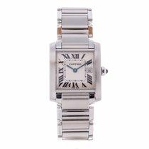 Cartier Tank Francaise 25mm Quartz Watch 2465 (Pre-Owned)