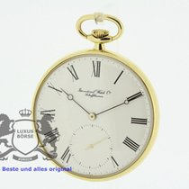 IWC 18K Pocket Watch 5201 Cal. 952 Papers from 1977