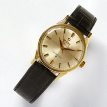 Omega Constellation vintage Herrenuhr in Stahl / Gold ca. 1965