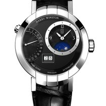 Harry Winston Premier Excenter Timezone 41mm prnatz41ww001