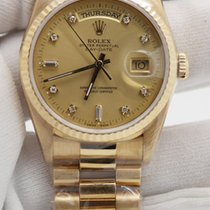 Rolex Day-Date 36 Watch: 18 ct yellow gold