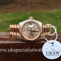 勞力士 (Rolex) Lady-Datejust 18ct Everose Gold – Sundust Dial –...