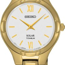 Seiko Solar SUP282P1 Elegante Damenuhr Sehr Elegant