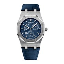 Audemars Piguet Royal Oak Dual Time Zone Power Reserve Blue Dial
