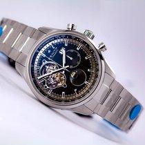 Zenith El Primero Chronomaster Grande Date Steel Black Dial