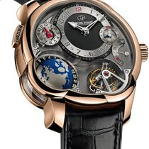 Greubel Forsey 97805 GMT Tourbillon 43.5mm in Rose Gold - on...