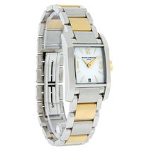 Baume & Mercier Diamant Ladies MOP Dial 2Tone Swiss Quartz...