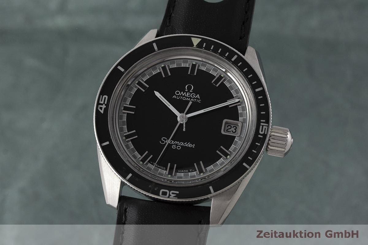 Omega Seamaster 60 Stahl Automatik Big Crown Herrenuhr 166.062... za ... 2249262eb7