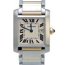 Cartier Tank Francaise 2- tone Excellent Condition W51012Q4