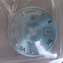 Rolex DAYDATE PLATIN DIAL # ICE BLUE ROMA 118206 (118239 118209)