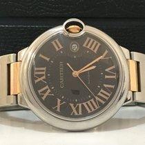 Cartier Ballon Bleu Chrocolate Ouro Rosé Aço XL