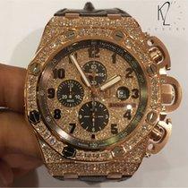 愛彼 (Audemars Piguet) Royal Oak Offshore Chronograph Diamond Brown