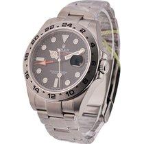 Rolex Unworn 216570 Explorer II in Steel - New Style - on...