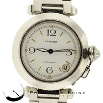 Cartier Pasha 2324 Steel Automatic 35.5mm White Dial