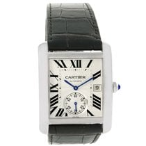 Cartier Tank Mc Silver Dial Automatic Mens Watch W5330003 Unworn