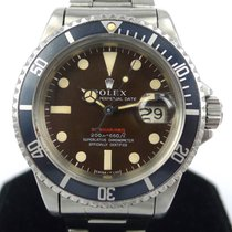 "Rolex Submariner ""Single Red"" Mark II Brown Tropical..."
