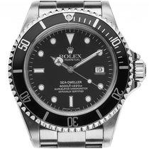 Rolex Sea-Dweller Stahl Automatik Armband Stahl 40mm Ref.16600...