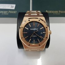 Audemars Piguet Royal Oak Selfwinding Blue Dial Boutique Edition