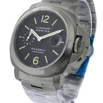 Panerai PAM00296 Luminor Marina 44mm PAM 296 - Titanium on...