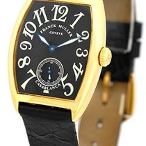 "Franck Muller Medium Size 18K Yellow Gold  ""Casablanca&#34..."