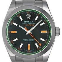 Rolex Green Milgauss Green Crystal Anniversary Men's Watch...