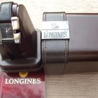 Longines Serge Manzon silver ladies watch - model no. 5001