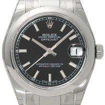 Rolex Datejust 31 Ref. 178240 Schwarz Index