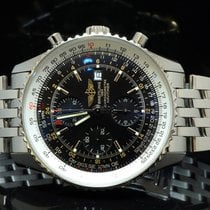 Breitling 2010 Navitimer World GMT, MINT, A2432212, Box &...