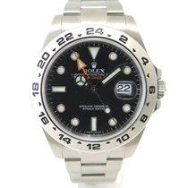 롤렉스 (Rolex) Explorer II 216570 black dial with original papers.
