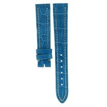 Breitling Light Blue Crocodile Leather Strap 16mm/14mm
