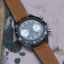 Marvin vintage black dial 2-register chronograph (on hold)