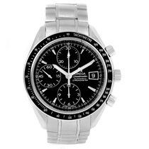Omega Speedmaster Black Dial Automatic Date Watch Mens 3210.50.00